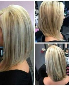 Long Bob Hairstyles Back View
