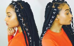 Braid Hairstyles with Rubber Bands