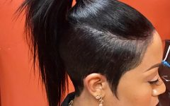 Tapered Tail Braided Hairstyles