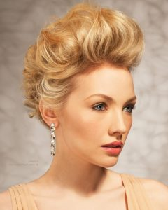 Teased Updo Hairstyles