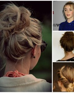 Teenage Updo Hairstyles