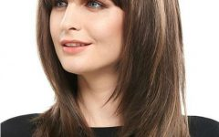 Full Fringe and Face-framing Layers Hairstyles