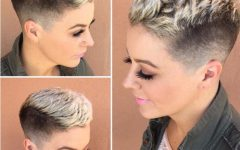 Short Tapered Pixie Upwards Hairstyles