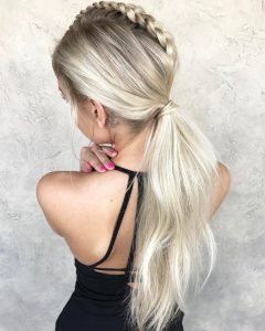 Botticelli Ponytail Hairstyles