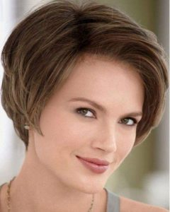 Women's Short Hairstyles For Oval Faces