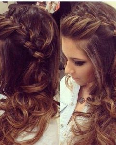 Related about Long Curly Hairstyles For Wedding Guest