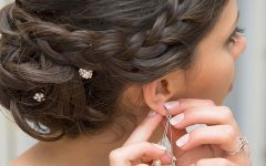 Bouffant and Chignon Bridal Updos for Long Hair