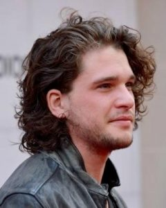 Men Long Curly Hairstyles