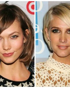 Medium Haircuts For High Cheekbones
