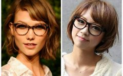 Medium Haircuts for Women Who Wear Glasses