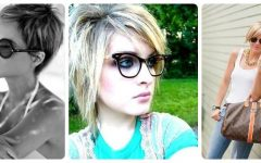 Short Hairstyles for Ladies with Glasses