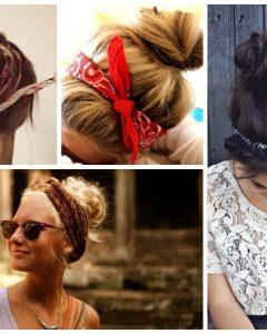 Medium Hairstyles With Bandanas