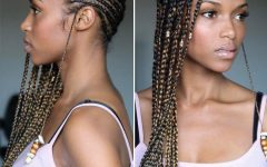 Beaded Plaits Braids Hairstyles