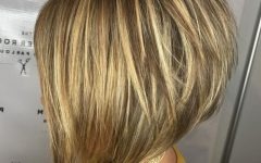 Stacked Copper Balayage Bob Hairstyles