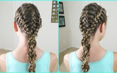 Triple the Braids Hairstyles