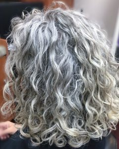 Curly Grayhairstyles