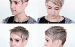 Sweeping Pixie Hairstyles with Undercut