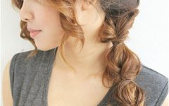 Braided Boho Locks Pony Hairstyles