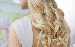 Bold Blonde Bun Bridal Updos