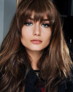 Long Hairstyles Round Face No Bangs