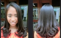 Rebonded Medium Hairstyles