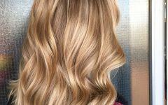Caramel Blonde Hairstyles