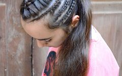 Cornrow Accent Braids Hairstyles
