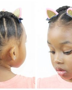 Cornrow Hairstyles For Little Girl
