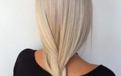 Cream-colored Bob Blonde Hairstyles
