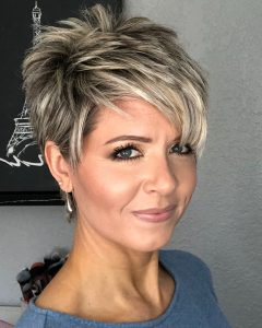 Edgy Messy Pixie Haircuts