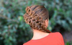 Elegant Bow Braid Hairstyles