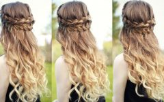Half-up, Half-down Braided Hairstyles