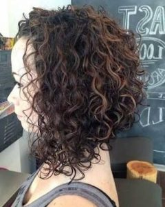 Inverted Bob For Curly Hair