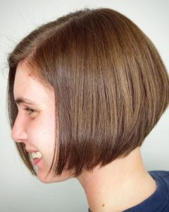 Jaw Length Short Bob Hairstyles For Fine Hair