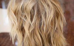 Loose Curls Medium Shag Haircuts