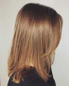 Medium Haircuts With Soft Layers