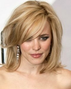 Medium Hairstyles for Oval Faces and Thin Hair