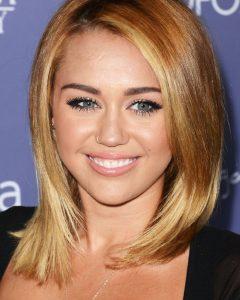 Miley Cyrus Medium Haircuts