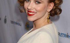 Scarlett Johansson Asymmetrical Choppy Bob Hairstyles