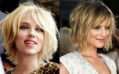Shaggy Bob Hairstyles with Bangs