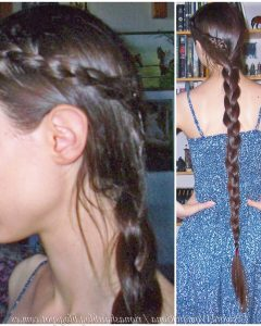 Three Strand Side Braided Hairstyles
