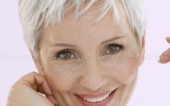 Gray Hair Pixie Haircuts