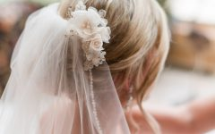 Updos Wedding Hairstyles with Veil