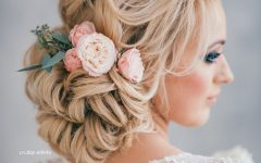 White Wedding Blonde Hairstyles