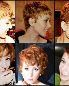 Growing-Out Pixie Hairstyles For Curly Hair