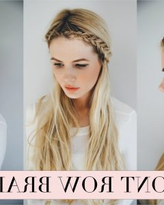 Braided Hairstyles In The Front