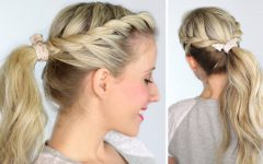 Twist-Into-Ponytail Hairstyles