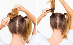 Double Mini Buns Updo Hairstyles