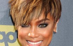 Tyra Banks Short Hairstyles