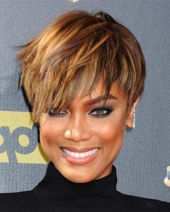 Tyra Banks Short Hairstyles